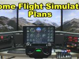 Home Flight Simulator Plans Home Flight Simulator Plans How to Install Larger Displays