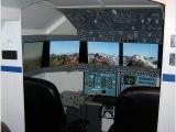 Home Flight Simulator Plans Home Made Fs Cockpit
