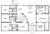 Home Floor Plan the Hacienda Iii 41764a Manufactured Home Floor Plan or