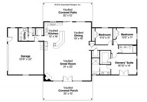 Home Floor Plans Online Ranch House Plans Anacortes 30 936 associated Designs