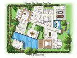 Home Garden Design Plan Saisawan Garden Villas Ground Floor Plan House Plans