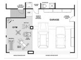 Home Gym Floor Plan Garage Gym Could Modify to Suit Individual Http Www