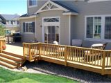 Home Hardware Deck Plans Home Deck How to Build A Simple Deck On A Budget Home