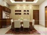 Home Interior Plans Pictures Contemporary Kitchen Dining and Living Room Kerala Home