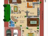 Home Layout Plan 3d Front Elevation Com 1 Kanal House Drawing Floor