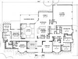 Home Library Floor Plans the Valdosta 3752 6 Bedrooms and 4 Baths the House