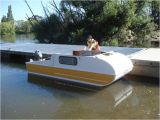 Home Made Boat Plans when You See This Tiny Diy Boat Camper You 39 Ll Love It