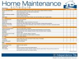 Home Maintenance Service Plans Maintenance Schedule Template Excel Natural Buff Dog