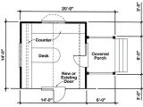 Home Office Building Plans Project Plan 90026 14 39 X14 39 Office Addition for One and