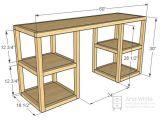 Home Office Desk Plans Free Best 25 Build A Desk Ideas On Pinterest Desk Plans