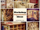 Home organization Plan Workshop organization Ideas Sawdust Girl