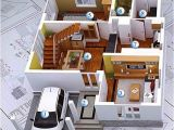 Home Plan 3d Design Online 3d Modern House Plans Collection
