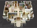 Home Plan 3d Make 3d House Design Model Stylid Homes