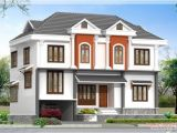 Home Plan 3d View 2172 Kerala House with 3d View and Plan