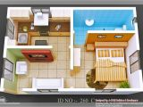 Home Plan 3d View 3d isometric Views Of Small House Plans Kerala House