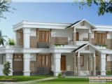 Home Plan and Design Modern Mix Sloping Roof Home Design 2650 Sq Feet