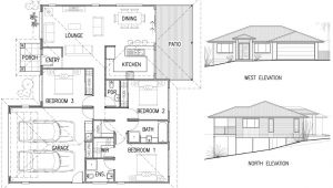 Home Plan and Elevation House Plan Elevation Architecture Plans 4976