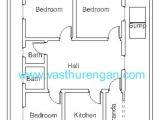 Home Plan as Per Vastu Vastu Plan for south Facing Plot 4 Vasthurengan Com