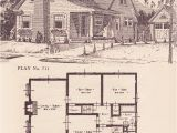 Home Plan Books 1924 Modern Colonial Revival Cottage 1920s House Plans