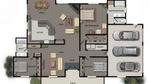 Home Plan Collection 3d Modern House Plans Collection