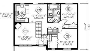 Home Plan Design 0 Square Feet Traditional Style House Plan 2 Beds 1 00 Baths 900 Sq Ft