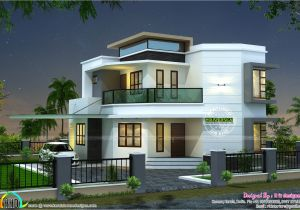Home Plan Design Ideas 1838 Sq Ft Cute Modern House Kerala Home Design and
