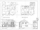 Home Plan Drawings Floor Plan Elevation Bungalow House