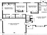 Home Plan for 0 Sq Ft that Houses A 1600 Square Feet 1100 Square Feet House