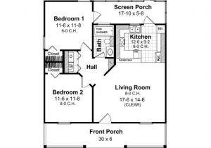Home Plan for 800 Sq Ft High Quality House Plans Under 800 Sq Ft 6 Cottage House