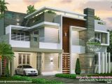 Home Plan Ideas Magazine Home Design Sq Ft sober Color Contemporary House Kerala