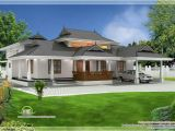 Home Plan Kerala Free Download Kerala Traditional 3 Bedroom House Plan with Courtyard and