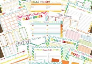 Home Planning Binder Free Family Management Binder Printables