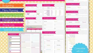 Home Planning Binder Free Printables for Home Management Binder Www