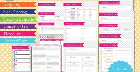 Home Planning Binder Free Printables for Home Management Binder Www