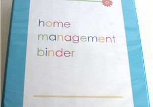 Home Planning Binder Home Management Binder Planning and Contacts Laura 39 S