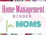Home Planning Binder the Mom Planner Home Management Binder for Moms