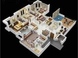 Home Plans 4 Bedroom 50 Four 4 Bedroom Apartment House Plans Architecture