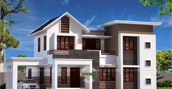 Home Plans and Designs with Photos New House Design In 1900 Sq Feet Kerala Home Design and