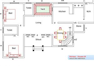 Home Plans and Elevations Home Plan and Elevation 2388 Sq Ft Kerala Home Design