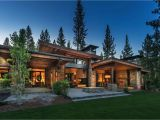 Home Plans Architect Mountain Modern Home In Martis Camp with Indoor Outdoor Living