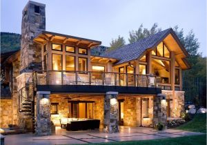 Home Plans Colorado Walkout Basement House Plans for A Rustic Exterior with A