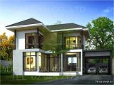 Home Plans Contemporary Modern Two Story House Plans