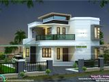 Home Plans Design 1838 Sq Ft Cute Modern House Kerala Home Design and