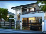 Home Plans Design Best 2 Storey Modern House Plans Picture Modern House