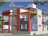 Home Plans Duplex Duplex House Plan and Elevation 2349 Sq Ft Indian