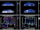 Home Plans Dwg Download Cad Building Template Us House Plans House Type 21