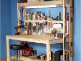 Home Plans Family Handyman How to Build A Diy Workbench Super Simple 50 Bench the
