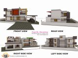 Home Plans for A View 3d View with Plan Kerala Home Design and Floor Plans