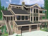 Home Plans for Hillside Lots Hillside House Plans for Sloping Lots Hillside House