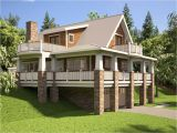 Home Plans for Hillside Lots Hillside House Plans with Walkout Basement Hillside House